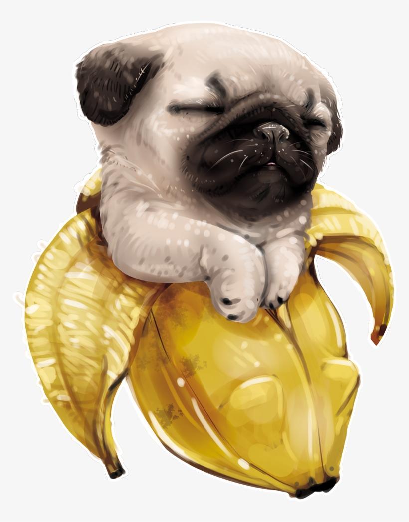 Pug Gifts Pug Art Print Of Original Watercolor Painting Pugs Art
