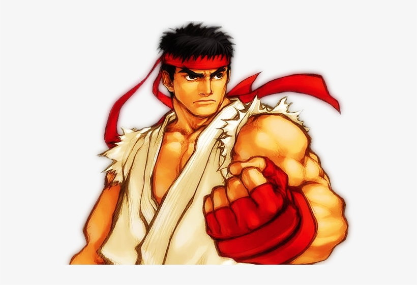 Street Fighter Ryu Transparent Png 640x480 Free Download On