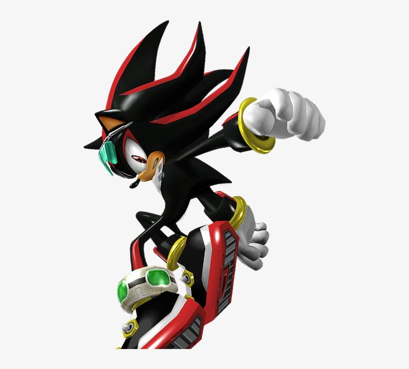 Sonic Riders Zero Gravity Shadow The Hedgehog Transparent Png 487x659 Free Download On Nicepng