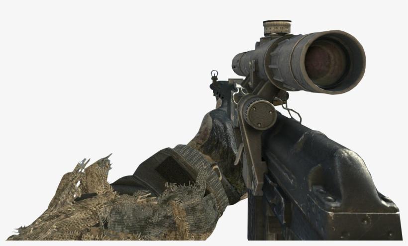 Dragunov Mw3 - Modern Warfare 3 Dragunov Transparent PNG