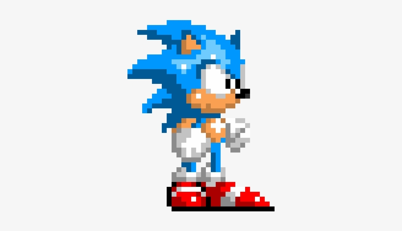 Classic Sonic - Sonic The Hedgehog Classic Pixel Transparent PNG - 920x660  - Free Download On NicePNG