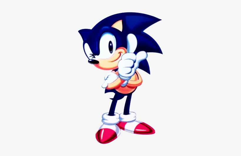 Sonic 1 5 Sonic The Hedgehog Classic 1991 Transparent Png 325x478 Free Download On Nicepng