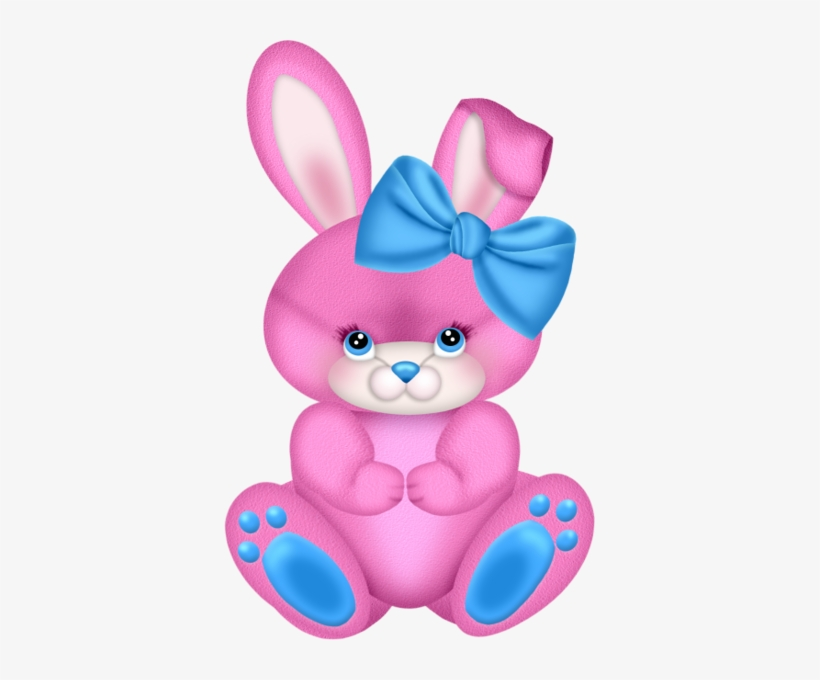 Clipart Easter Bunny Clipart Rabbit Easter Watercolor Pink Rabbit Clip Art Transparent Png 371x600 Free Download On Nicepng