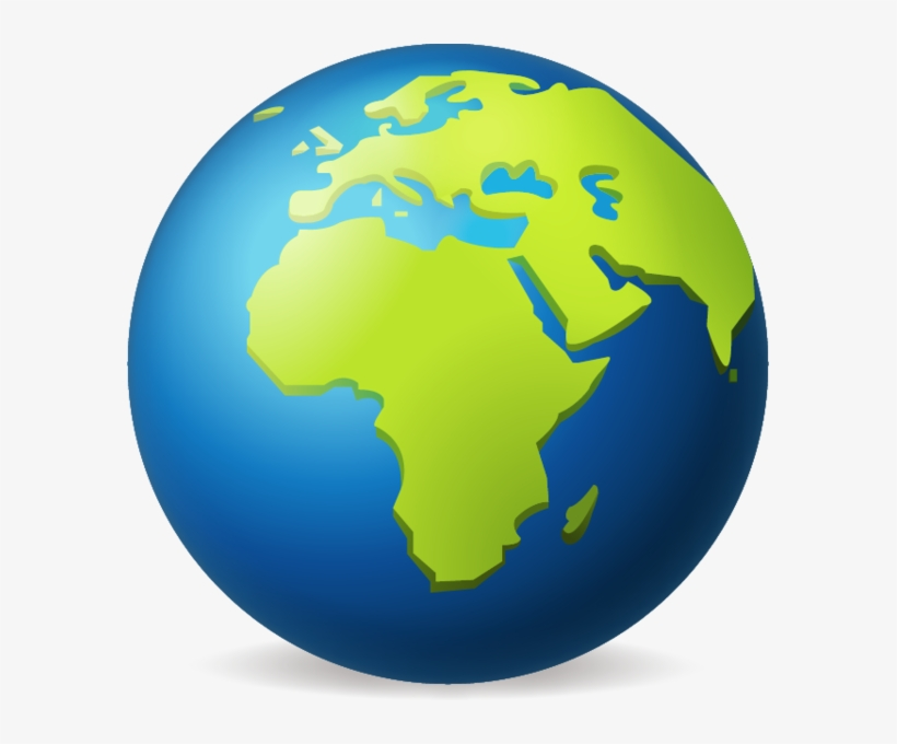 Earth Globe Png Hd Emoji Earth Png Transparent Png 587x600 Free Download On Nicepng