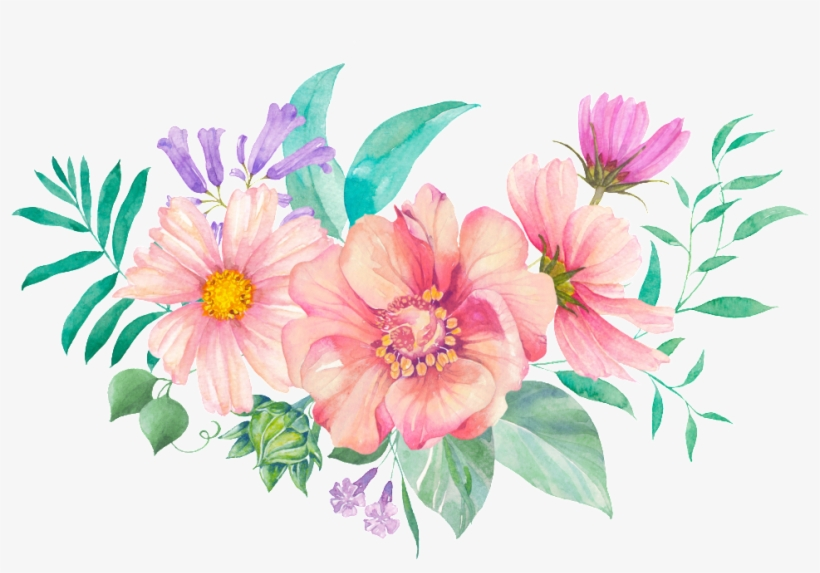 This Backgrounds Is Cute Flower Cartoon Transparent