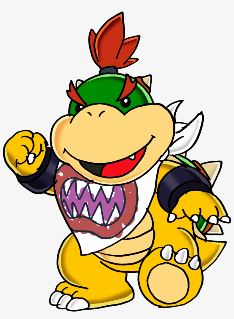 Image Freeuse Jr Super Mario Fighters Wiki Fandom Powered - Bowser