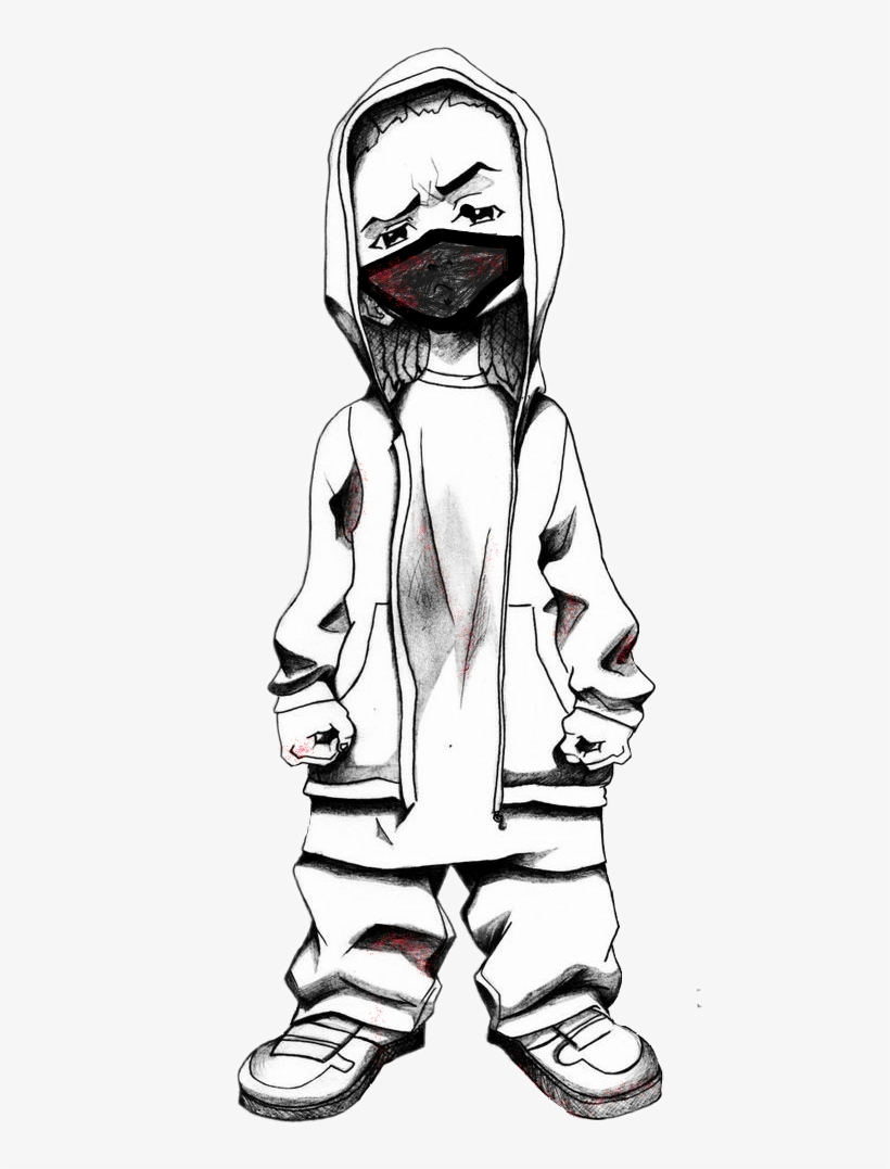Lil Gangster Boi Gangster Cartoon Drawings Transparent Png 715x1071 Free Download On Nicepng