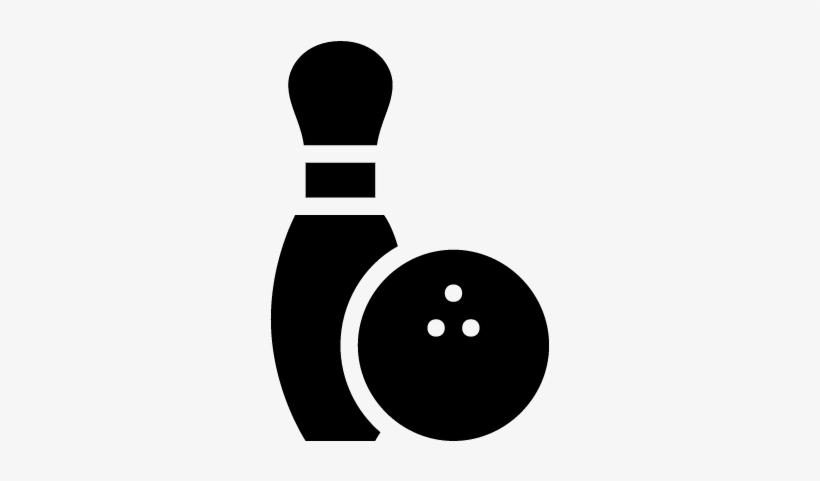 Download Hd Bowling Pin And Ball Vector Bowling Pin And Ball