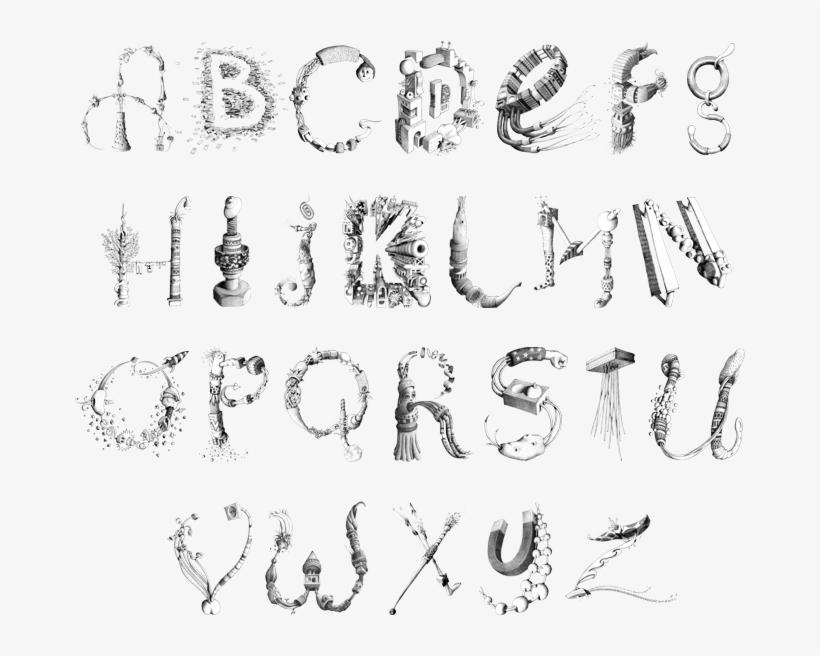 Creative Fonts Alphabet Photos Collections - Unique Creative Cool