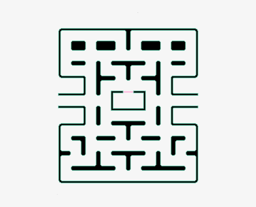 photo relating to Pac Man Printable named Pingus Pacmanmaze - Printable Pac Guy Maze Clear PNG