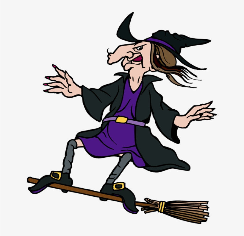 Witch Ugly Witch On Broom Transparent Png 639x712 Free Download On Nicepng
