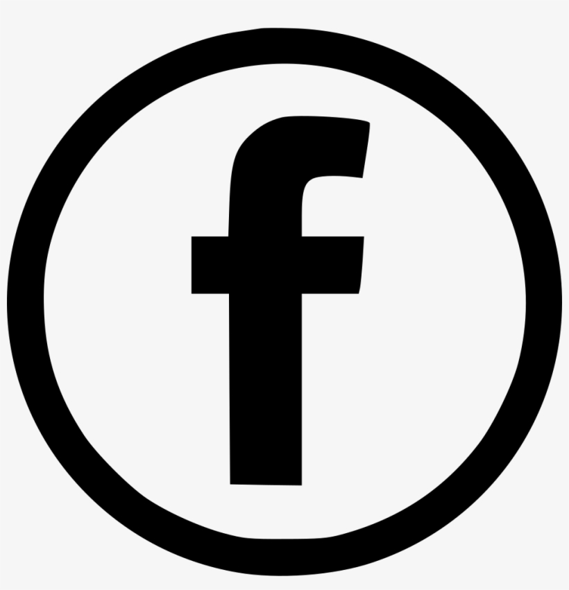 Facebook Logo Black And White Eps - Creative Commons Icons ...