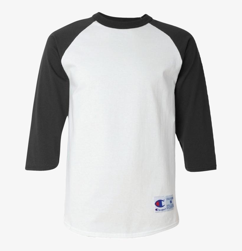 9f15a0a72c0a Template Champion T137 3/4 Sleeve Baseball Shirt - Champion Baseball Tee