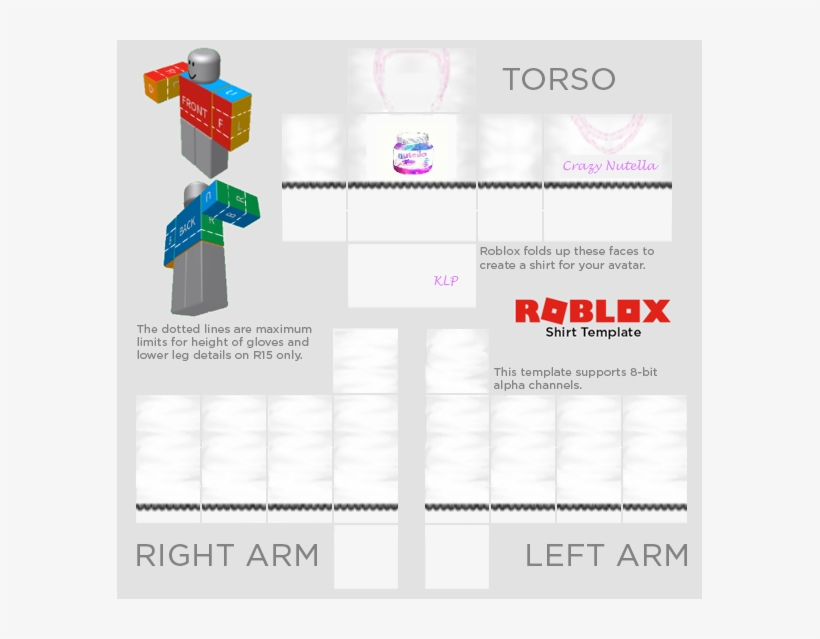 Roblox Shirt Template 2018