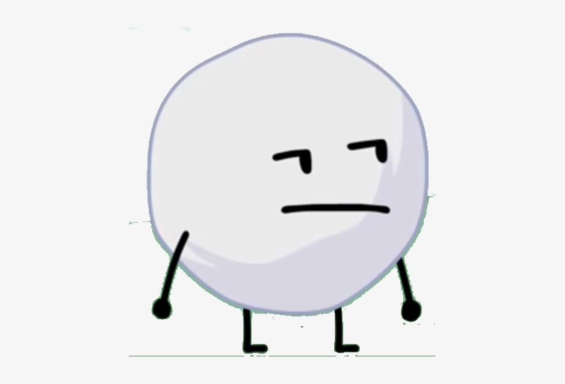 Bfb Snowball - Bfb Snowball Team Icon Transparent PNG