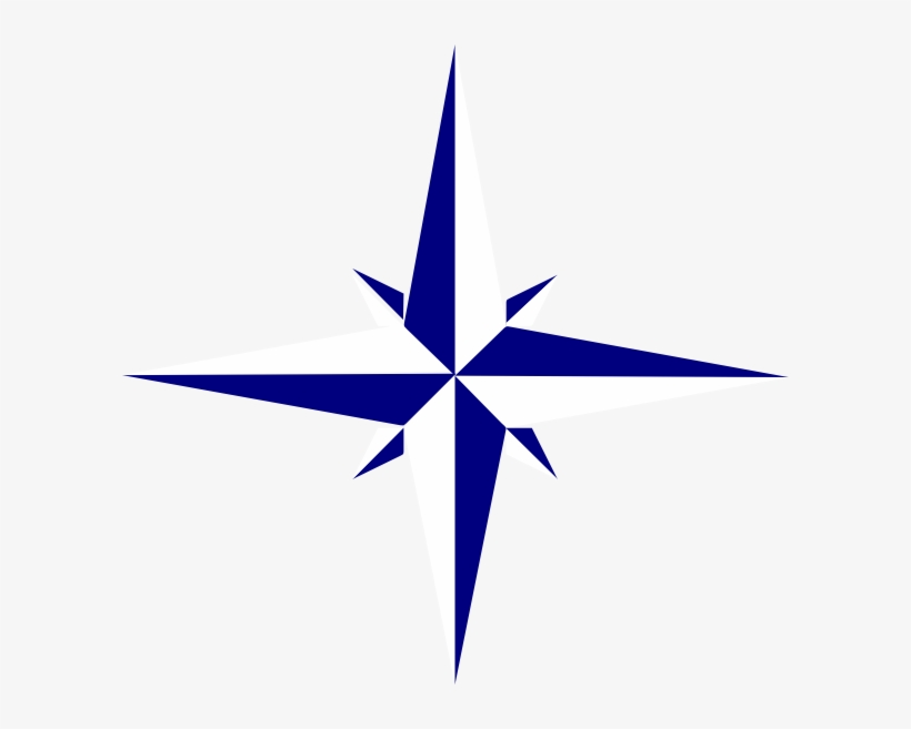 How To Set Use Gray Compass Star Icon Png Transparent PNG
