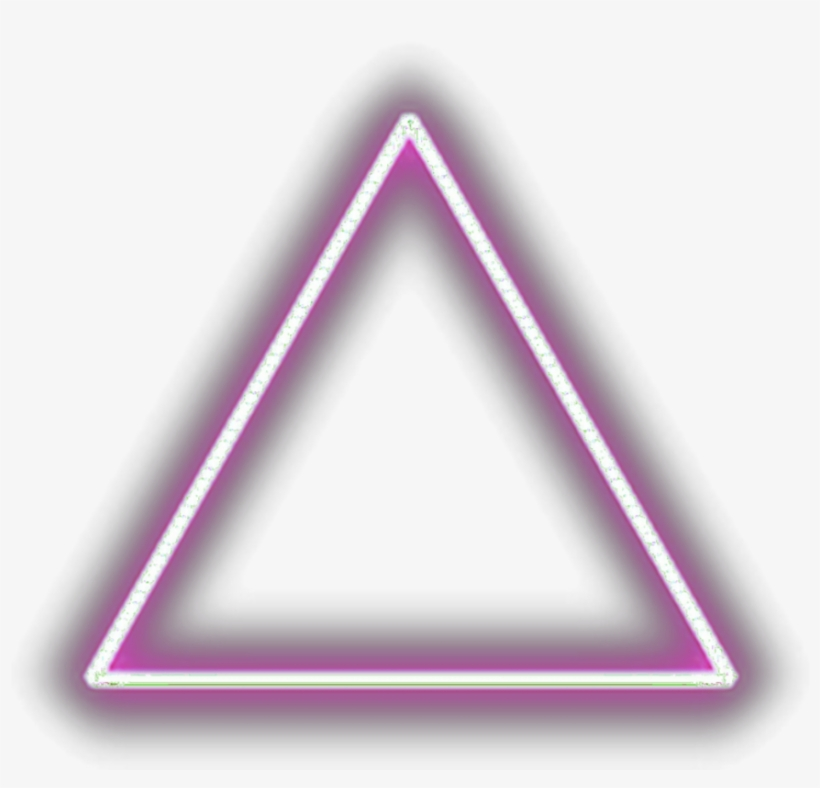 Ftestickers Geometricshapes Triangle Light Glowing