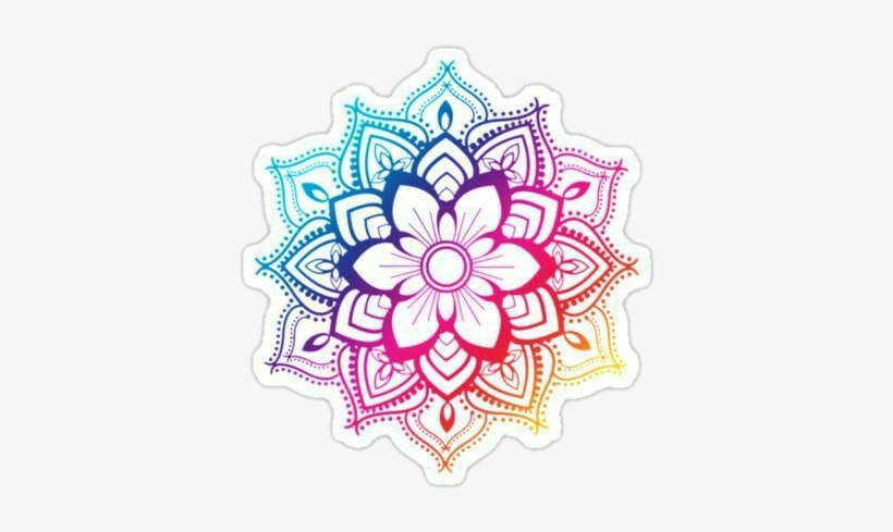 Mandala Png Tumblr Sticker Mandala Transparent Png 420x436