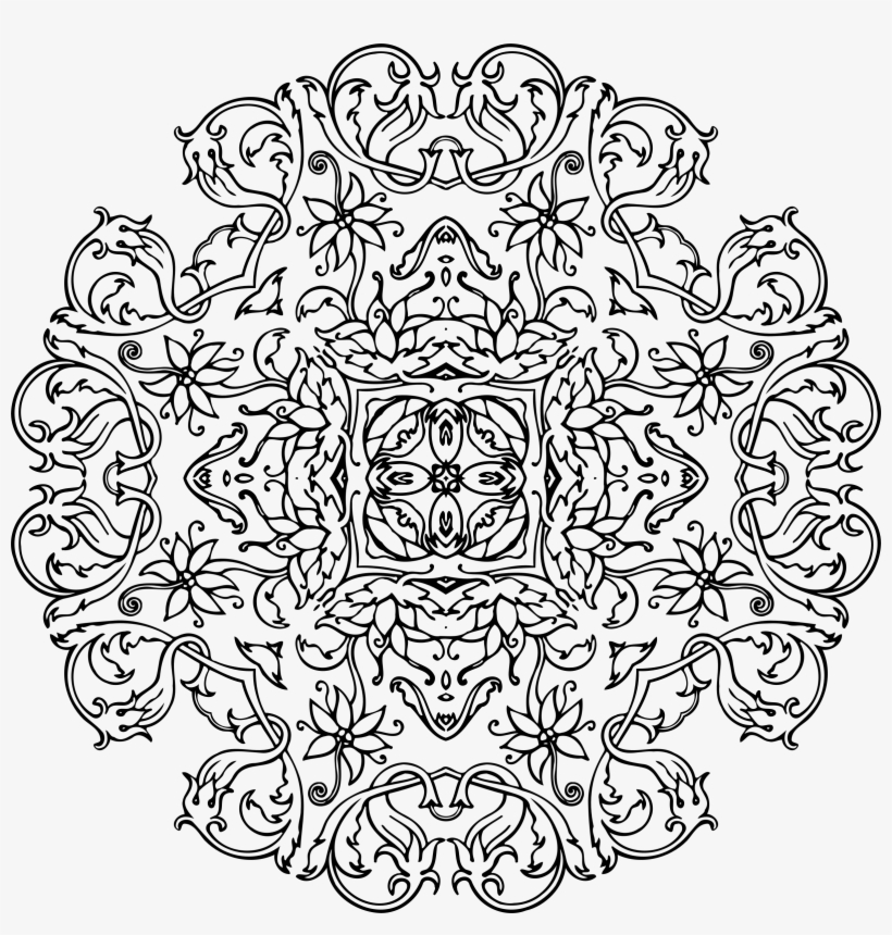 Mandala To Color Mandala Coloring Pages High Res Transparent Png 1600x1600 Free Download On Nicepng