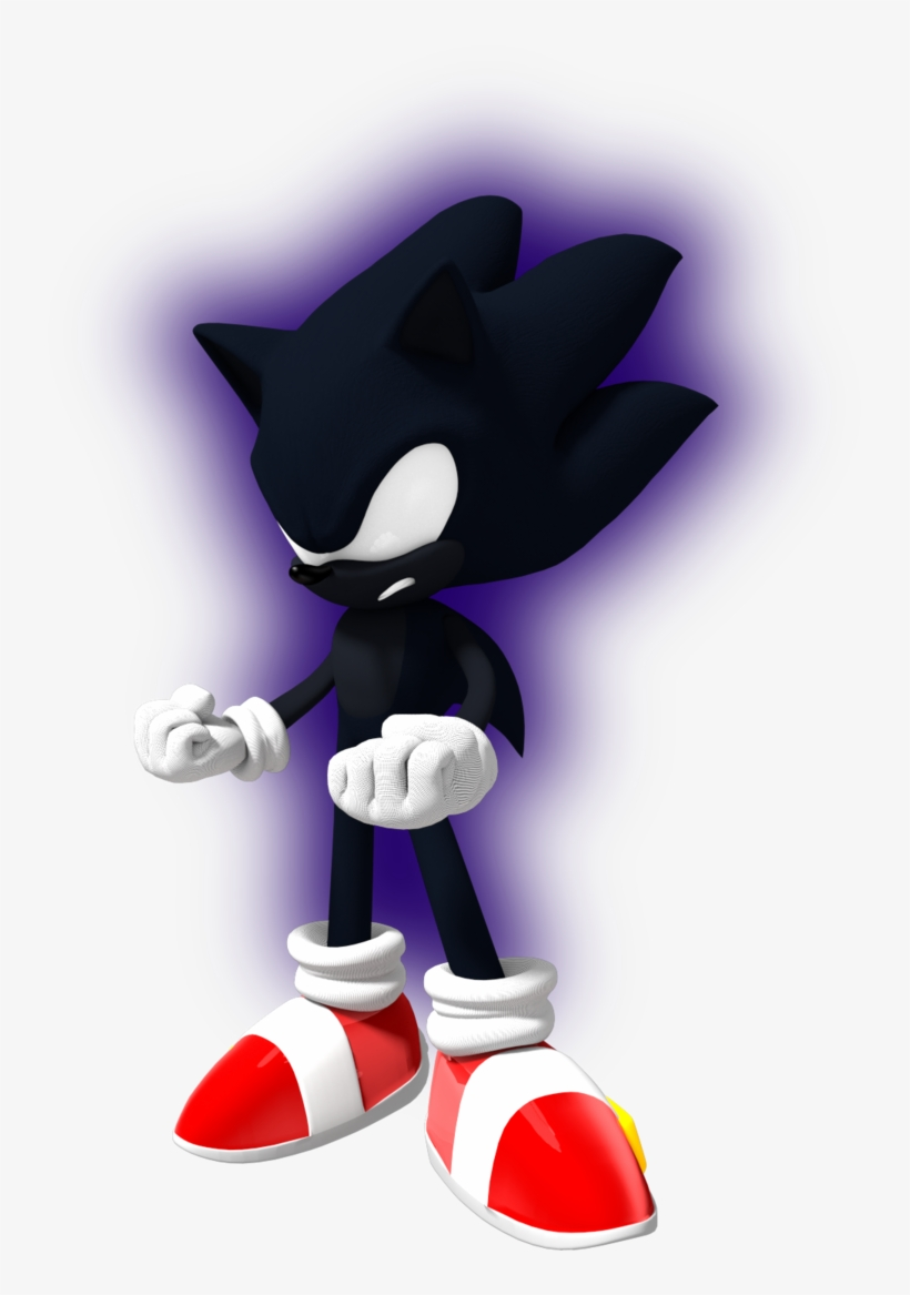 Dark Sonic Nazo Unleashed Transparent Png 735x1087 Free Download On Nicepng