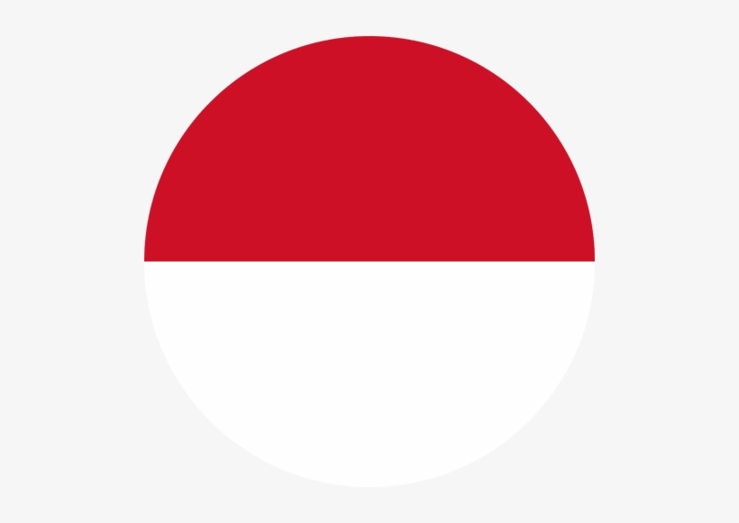 Indonesia Flag Indonesia Flag Circle Png Transparent Png 500x500 Free Download On Nicepng