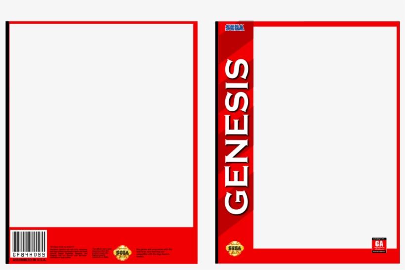 Boxart-segagenesis - Sega Genesis Game Box Template