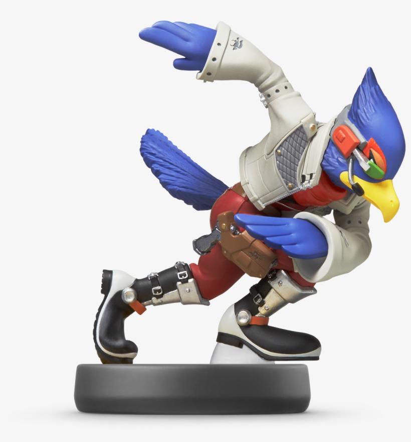 Amiibo Falco - Falco Lombardi Amiibo Transparent PNG - 1542x1557
