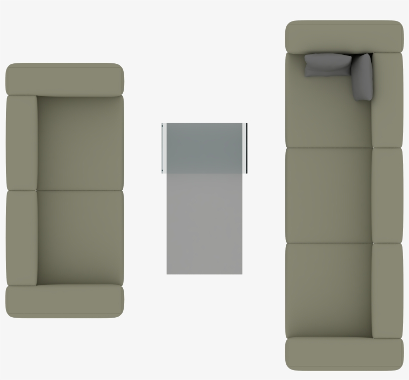 Sofa Top View For Photoshop Transparent Png 3000x3000 Free