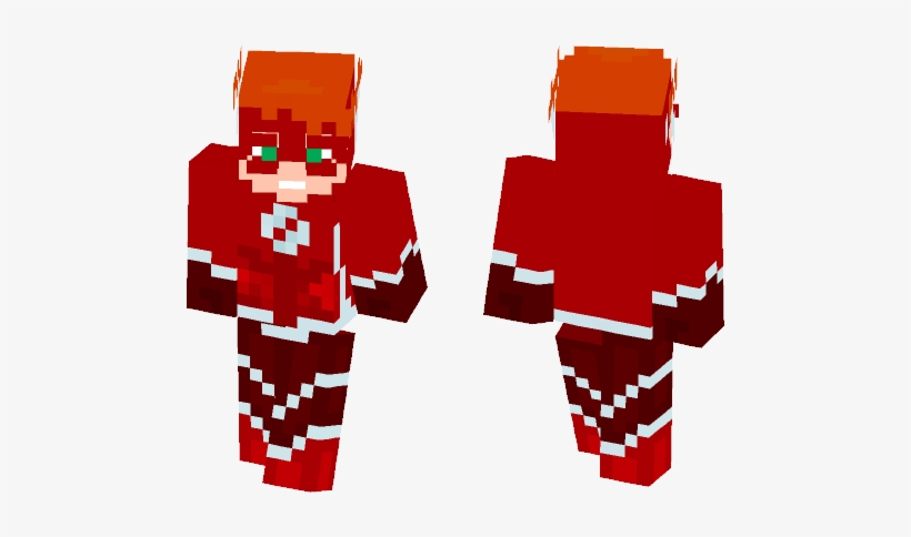 Kid Flash Minecraft Spiderman Skin Noir Transparent Png 584x497