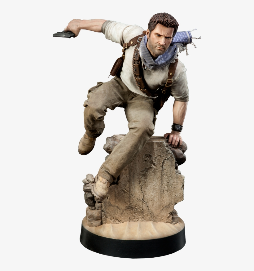 Nathan Drake Transparent Png Uncharted 3 Action Figure