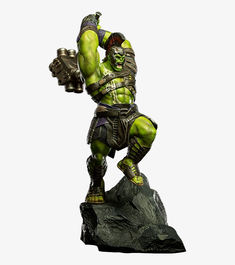 Marvel Thor Ragnarok Hulk Statue Iron Studios Silo Hulk