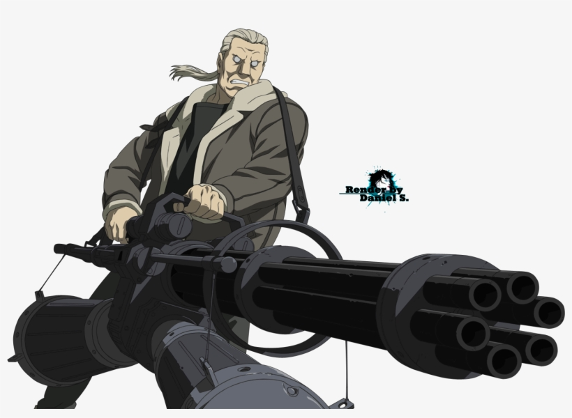 Gits Sac Ghost In The Shell Batou Png Transparent Png 1531x1050 Free Download On Nicepng