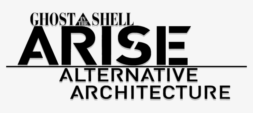 Ghost In The Shell Ghost In The Shell Arise Alternative Architecture Logo Transparent Png 800x310 Free Download On Nicepng