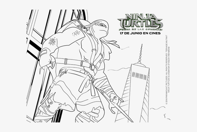 Teenage Mutant Ninja Turtles Raphael Coloring Pages Tartaruga