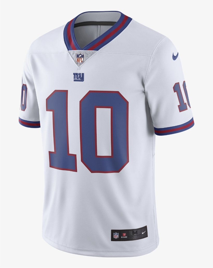 the best attitude 00988 5c613 Nike Nfl New York Giants Color Rush Limited Jersey - Saquon ...