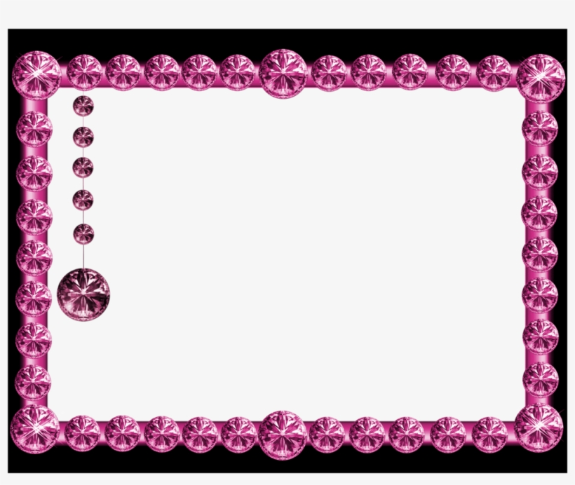 Gold Frames Hd Png Pink And Black Picture Frames Transparent Png