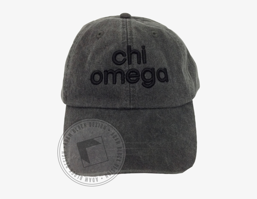 Chi Omega 3d Embroidered Hat - Baseball Cap Transparent PNG ... ed52960e5a7b