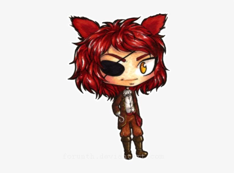 Human Foxy Fnaf Chibis 2 Clipart Free Clip Art Images Fnaf