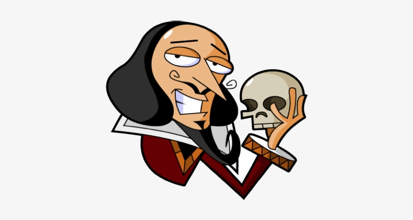 Clip Art Transparent Download Hamlet William Free On - Shakespeare Clipart  Transparent PNG - 407x385 - Free Download on NicePNG