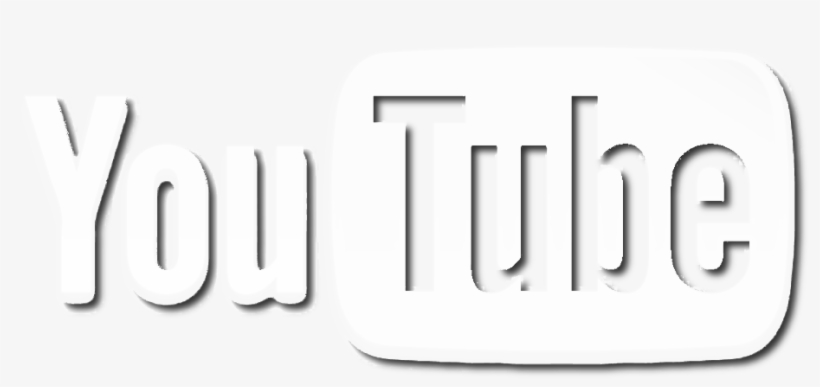 White Youtube Logo Youtube Logo Png White Transparent Png