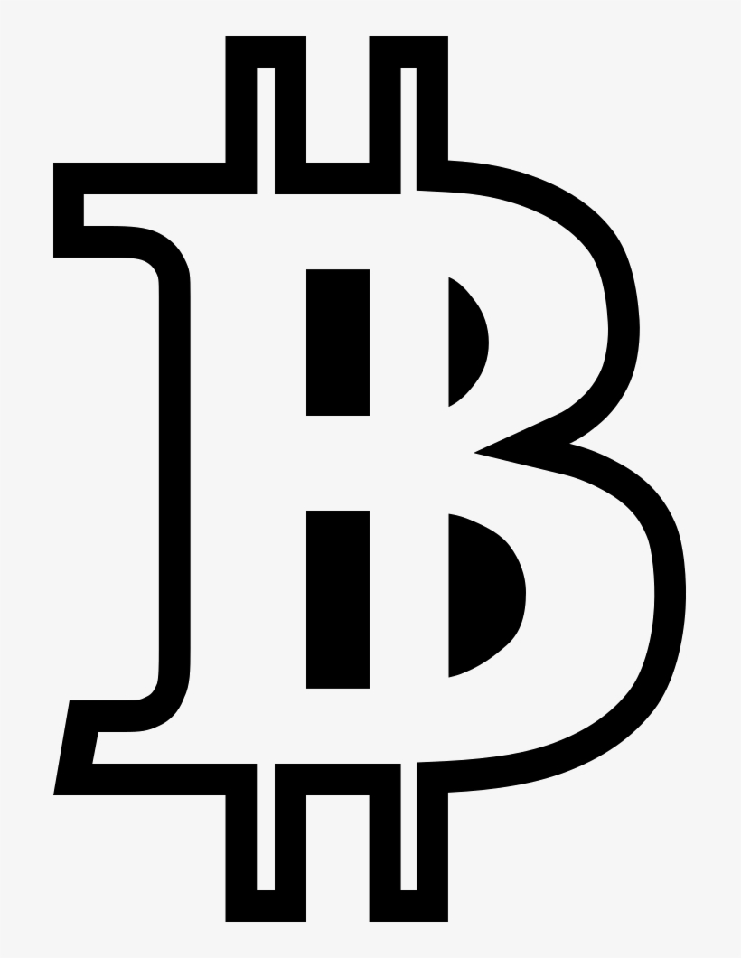 Png File Bitcoin Logo Png Outline Transparent Png 701x980 Free Download On Nicepng