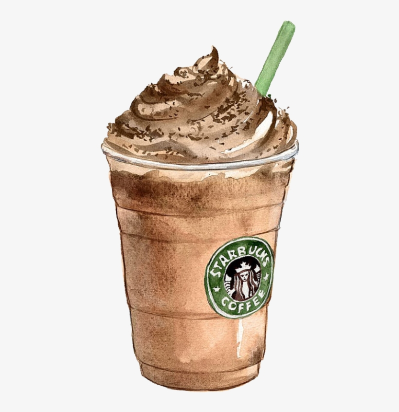 Image Free Download Coffee Tea Latte Starbucks Ice Starbucks Drawing Transparent Png 700x829 Free Download On Nicepng