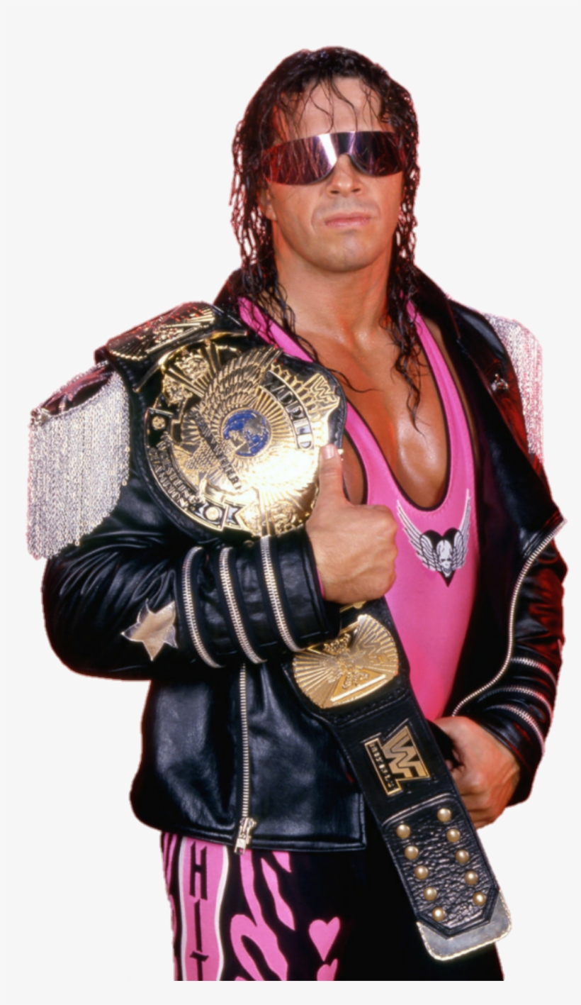 Image Id Bret The Hitman Hart Wwe Wcw Signed Autographed 8x10 Transparent Png 1200x1949 Free Download On Nicepng