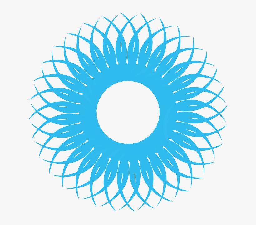 Blue Circleshape