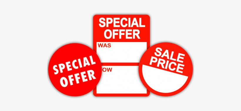 Promotional Stickers - Special Offer Transparent PNG