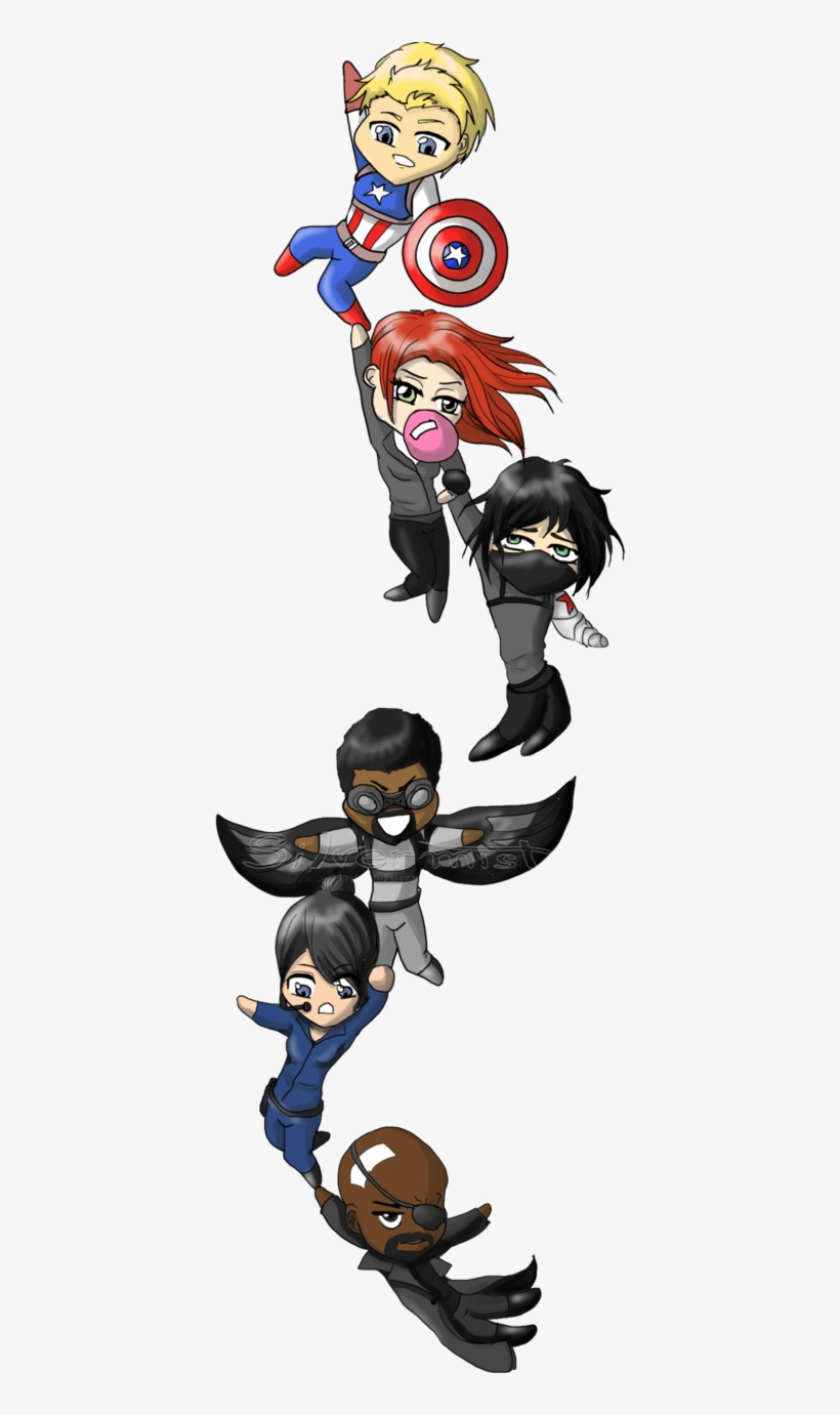 Happy Birthday - Chibi Winter Soldier Drawings Transparent PNG