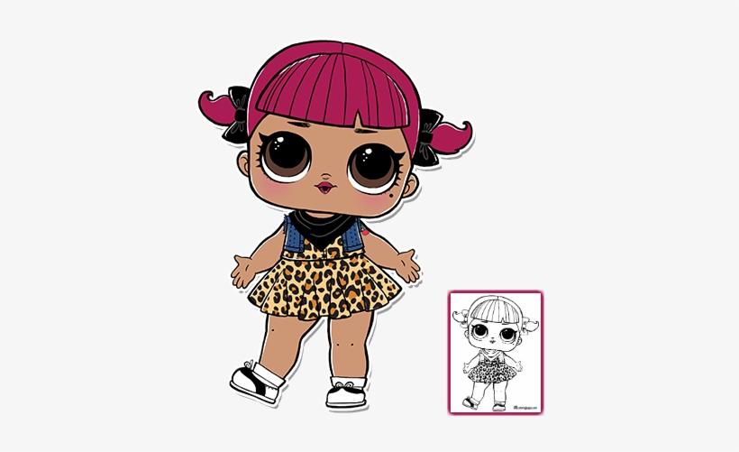 Lol Lol Surprise Dolls Lol Surprise Doll Coloring Pages
