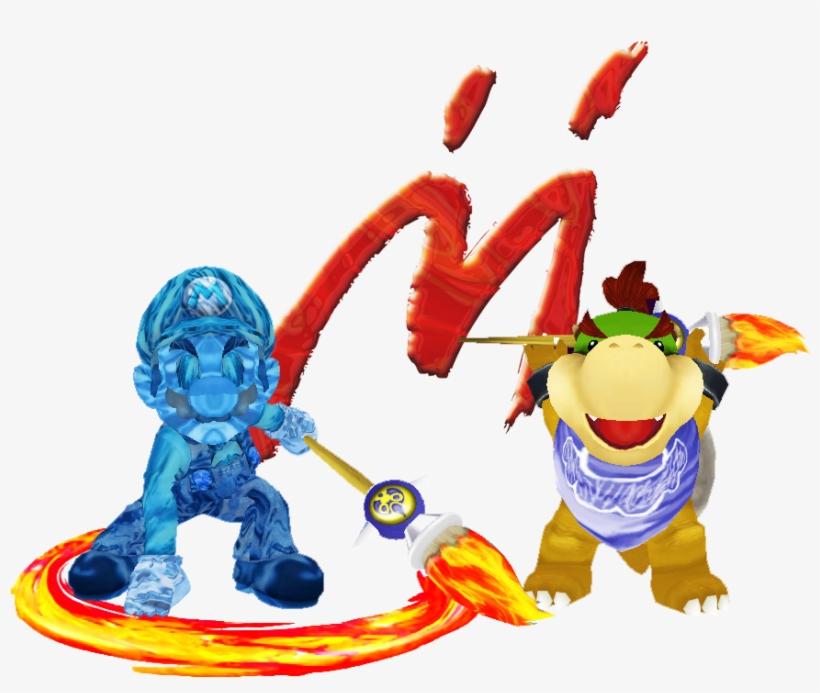 Bowser Jr And Shadow Mario Over Zelda And Sheik Bowser Jr