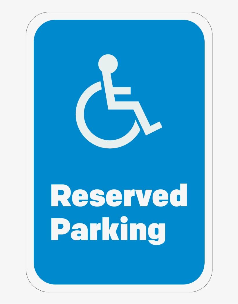 - Reserved Parking Handicap Logo, 12
