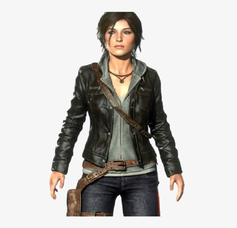 Tomb Raider Lara Croft Transparent Images Rise Of The Tomb Raider Leather Jacket Transparent Png 570x708 Free Download On Nicepng